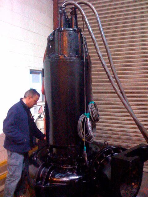 Manutenção de Bombas de Recalque