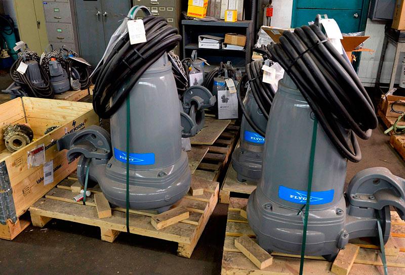 Manutenção de Bombas Submersíveis
